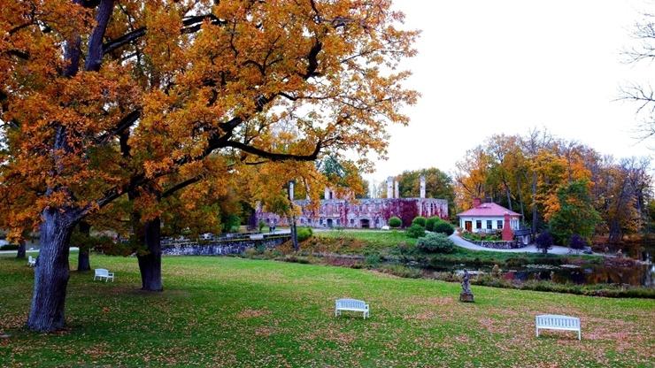 «Rankas muiža» ietērpusies košās rudens krāsās. Foto: Rankasmuiza.lv 292447