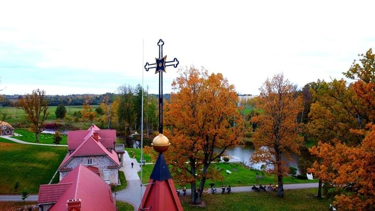 «Rankas muiža» ietērpusies košās rudens krāsās. Foto: Rankasmuiza.lv 292451
