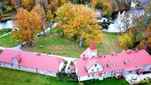 «Rankas muiža» ietērpusies košās rudens krāsās. Foto: Rankasmuiza.lv 9