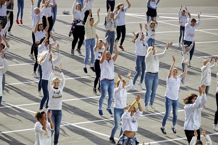 Rēzekne iesaistās «Jerusalema» dejas izaicinājumā 293009